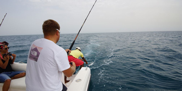 Fishing on Musandam Fjords