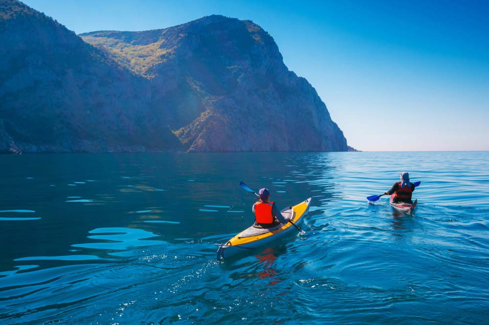 Kayaking on Musandam